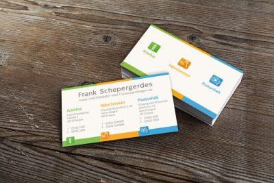 Visitenkarte - Frank Schepergerdes