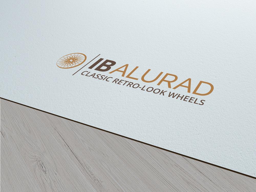 Logogestaltung IB Alurad