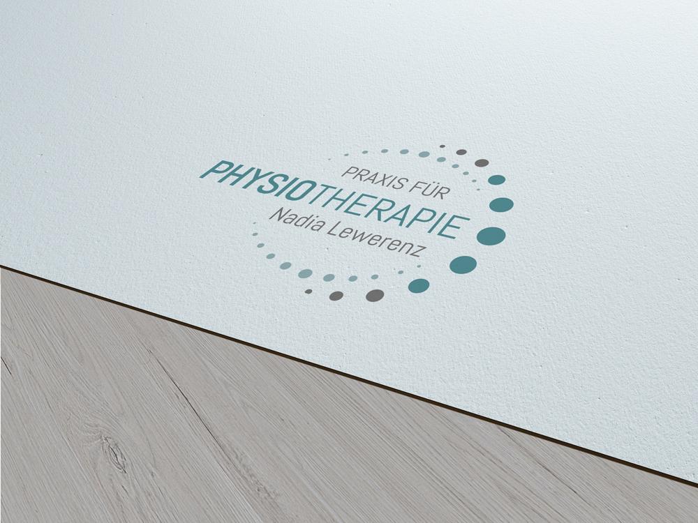 Logogestaltung für Physiotherapiepraxis Nadia Lewerenz
