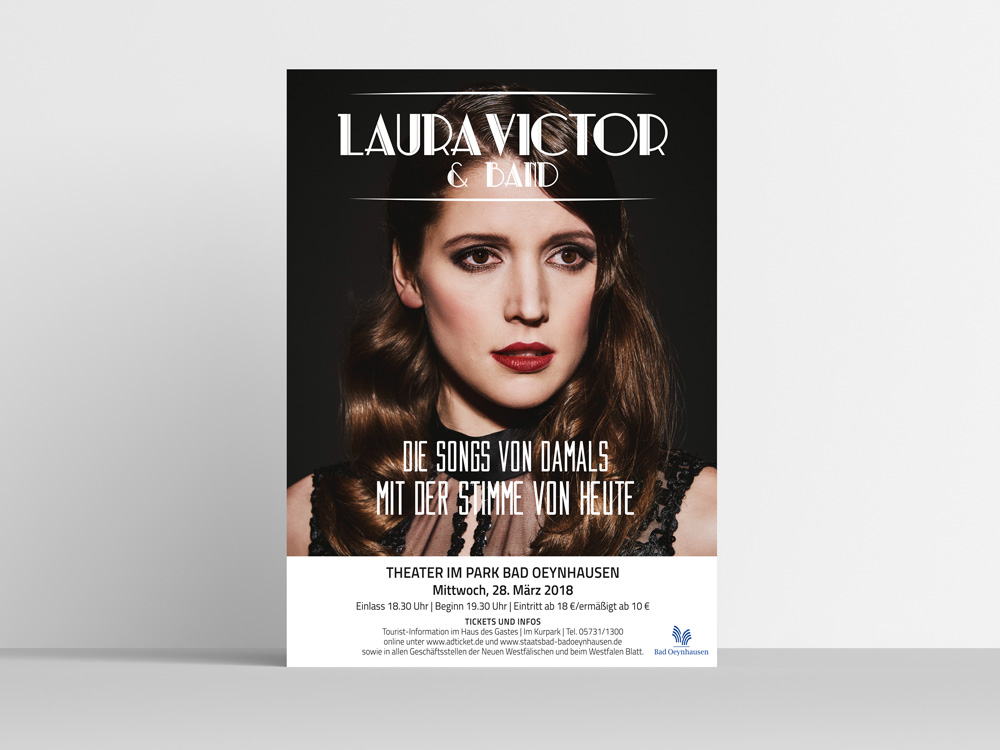 Plakat Laura Victor & Band